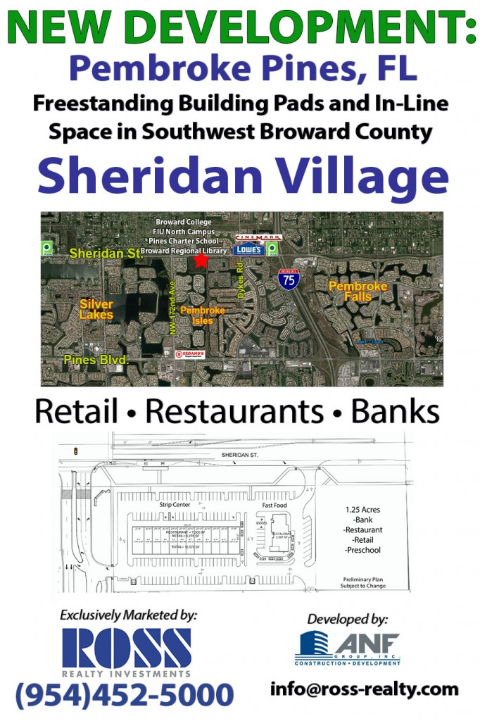 Ross Realty is now marketing Sheridan Village